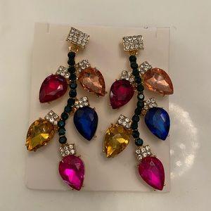BNWT statement earrings